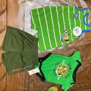 3Pc Baby Bundle 3-6 Months NWT